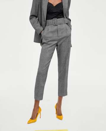check trouser