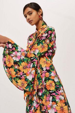 floral dress topshop