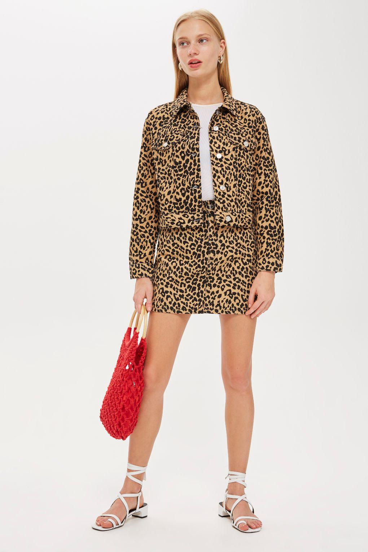 topshop leopard print coord